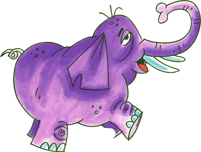 cartoon elephant wallpaper - photo #49