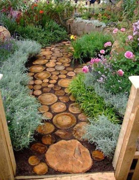 Landscaping Ideas From Wood