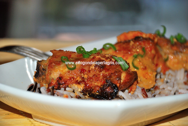 Pollo masala o Tandoori Masala