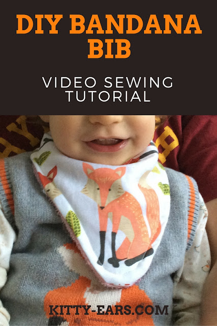 DIY Bandana Bib Tutorial