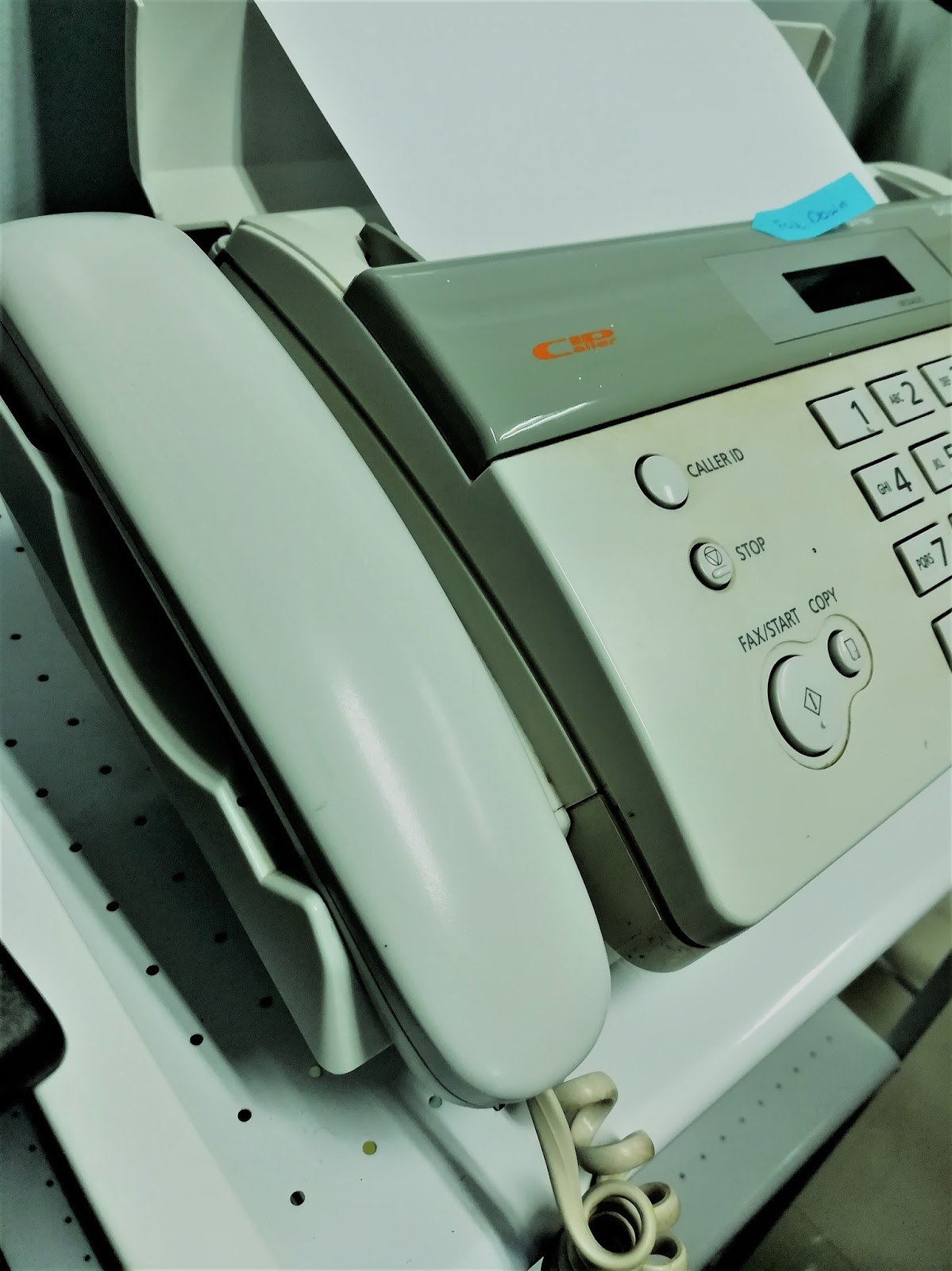 talkless simple steps to send fax message using fax machine