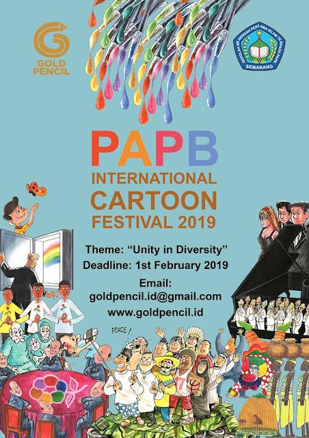 PAPB International Cartoon Festival 2019, Indonesia