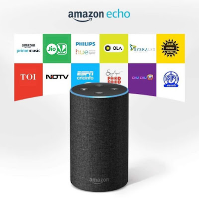 Amazon Echo - Smart speaker with Alexa,Amazon Echo,Smart speaker,Alexa