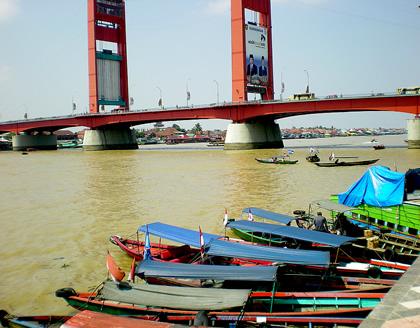 Musi River Palembang, nowdays