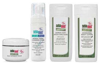 Daftar harga produk perawatan kulit Sebamed.
