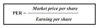 Rumus Price Earning Ratio (PER)