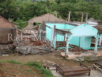 Tanah Gerak, Belasan Rumah di Sawoo Rusak
