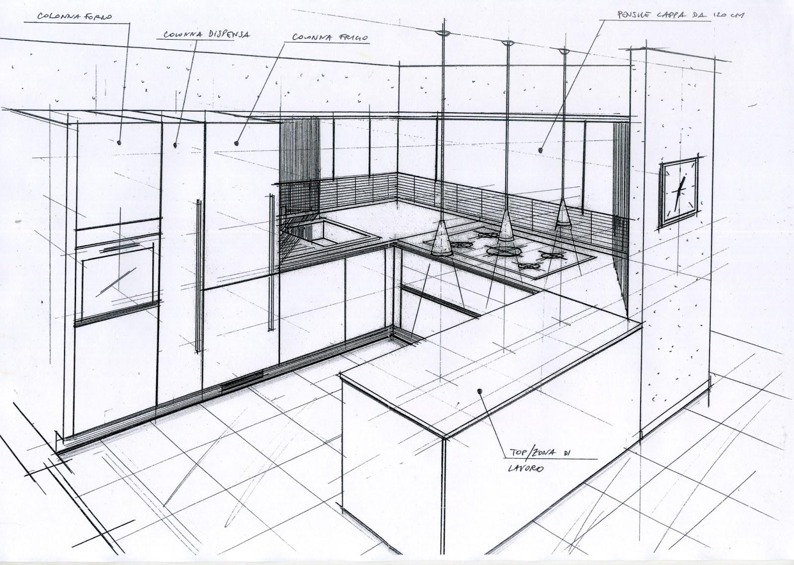 ALBERTO SOZZI Store Manager and Senior Interior Designer: Disegni di studio