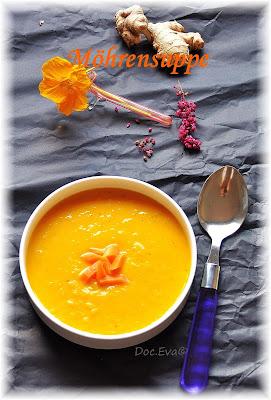 Karottensuppe, Mohrrübensuppe