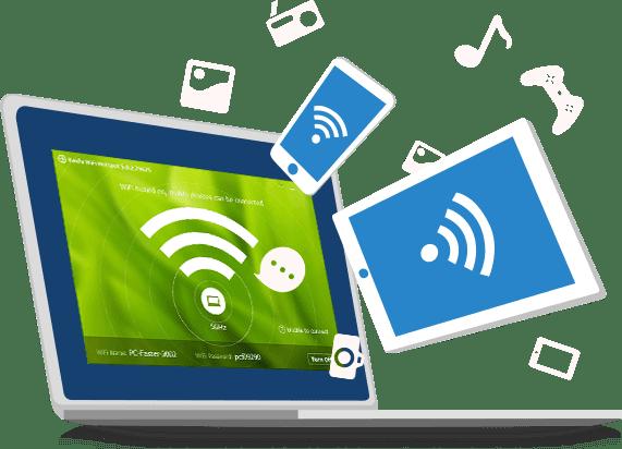 Baidu WiFi Hotspot 5.1.4.124910 | Convierte tu PC en un punto de acceso público para dispositivos móviles