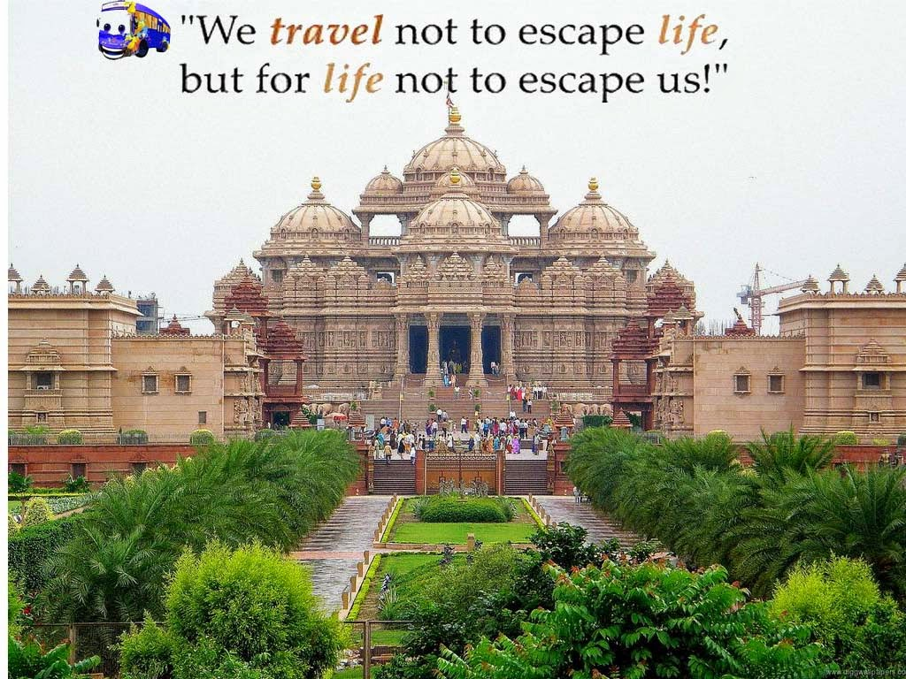 akshardham travel delhi quote