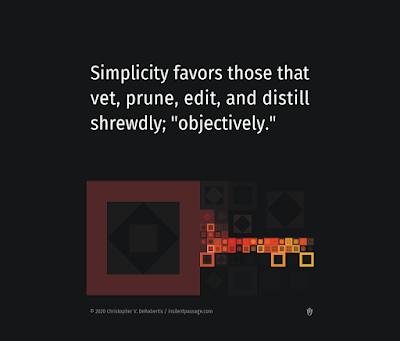 Todays Tendril... [20200701] - Simplicity Favors Copyright 2020 Christopher V. DeRobertis. All rights reserved. insilentpassage.com