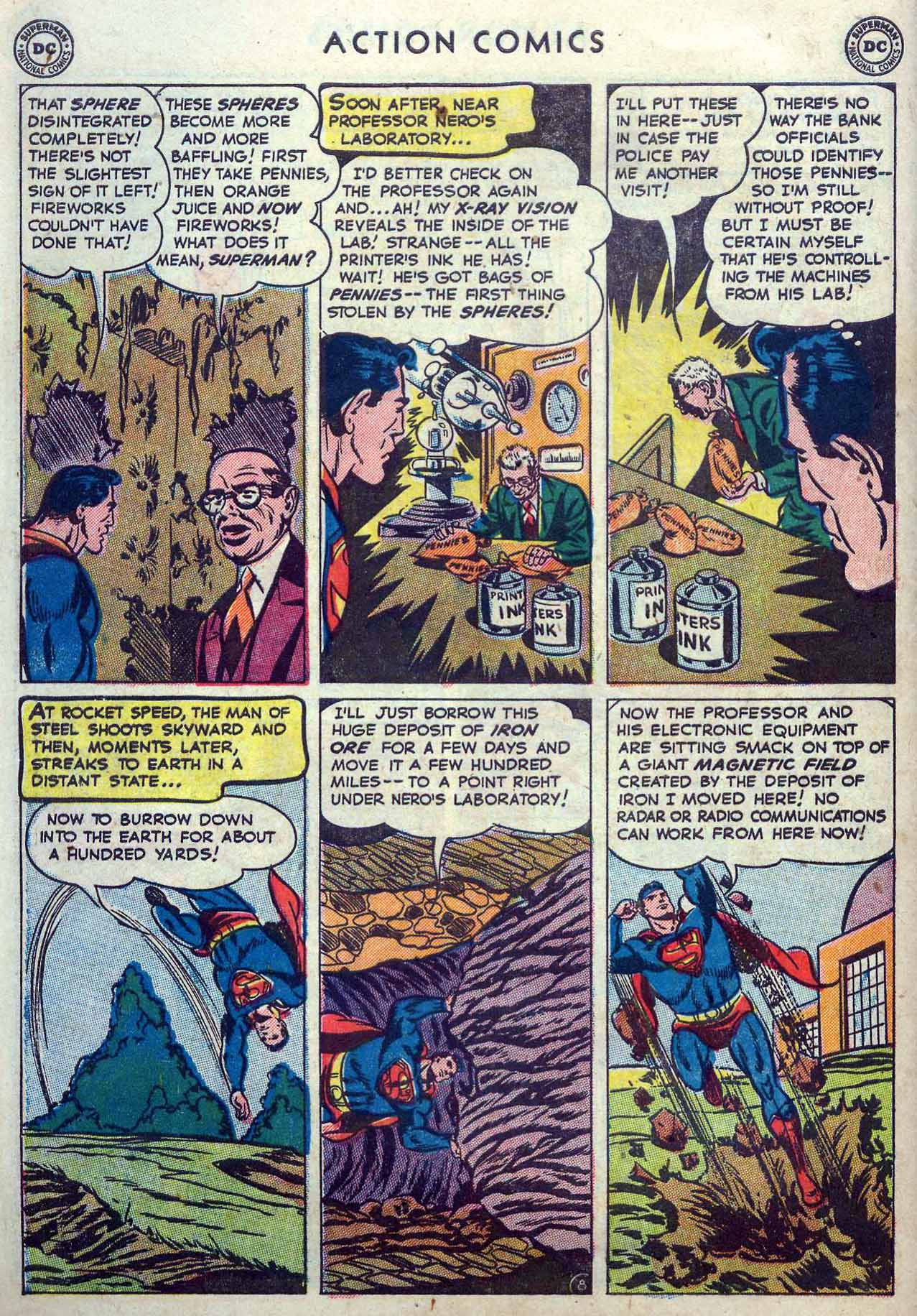 Read online Action Comics (1938) comic -  Issue #167 - 10