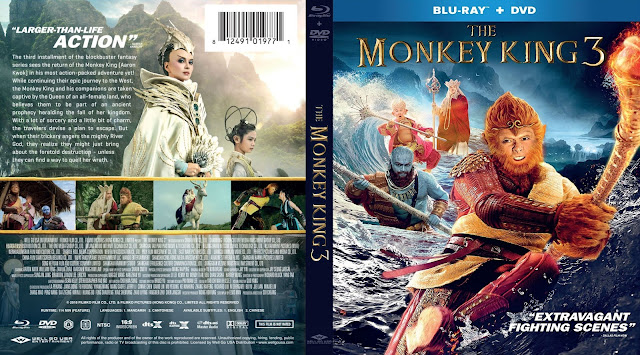 The Monkey King 3 Bluray Cover