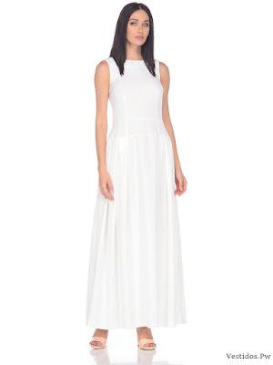vestidos blancos informales