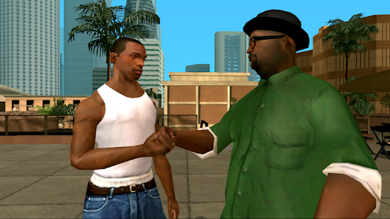 Grand Theft Auto: San Andreas Mod Apk Android