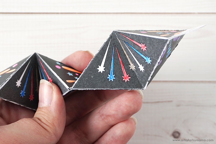 Free Printable Firework Flextangle