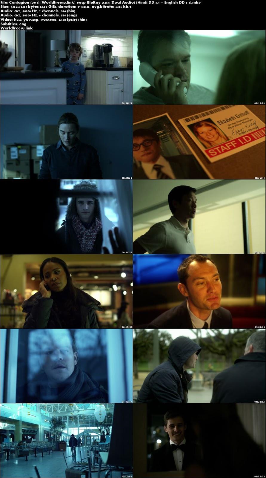 Screen Shoot of Contagion 2011 BRRip 1080p Dual Audio Hindi English