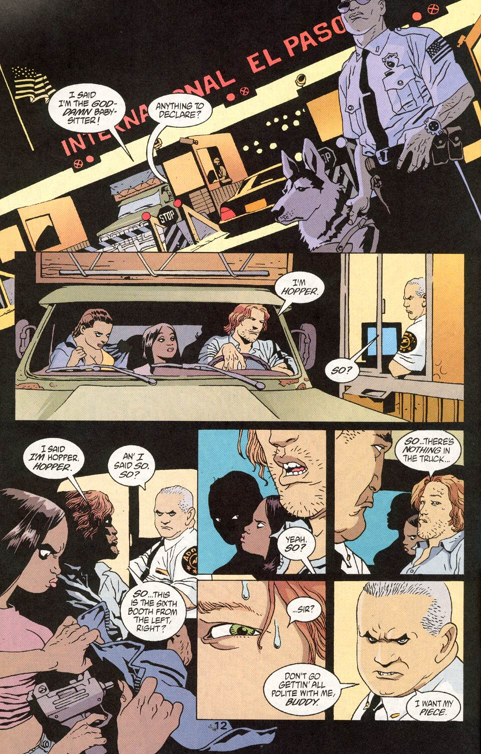 Read online 100 Bullets comic -  Issue #30 - 14