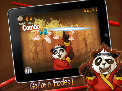 KungFu Food Panda HD iOS Game