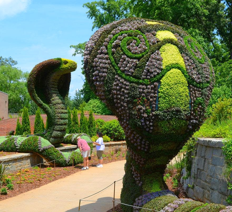 Garden Art Plus: Amazing Plant Art Sculptures