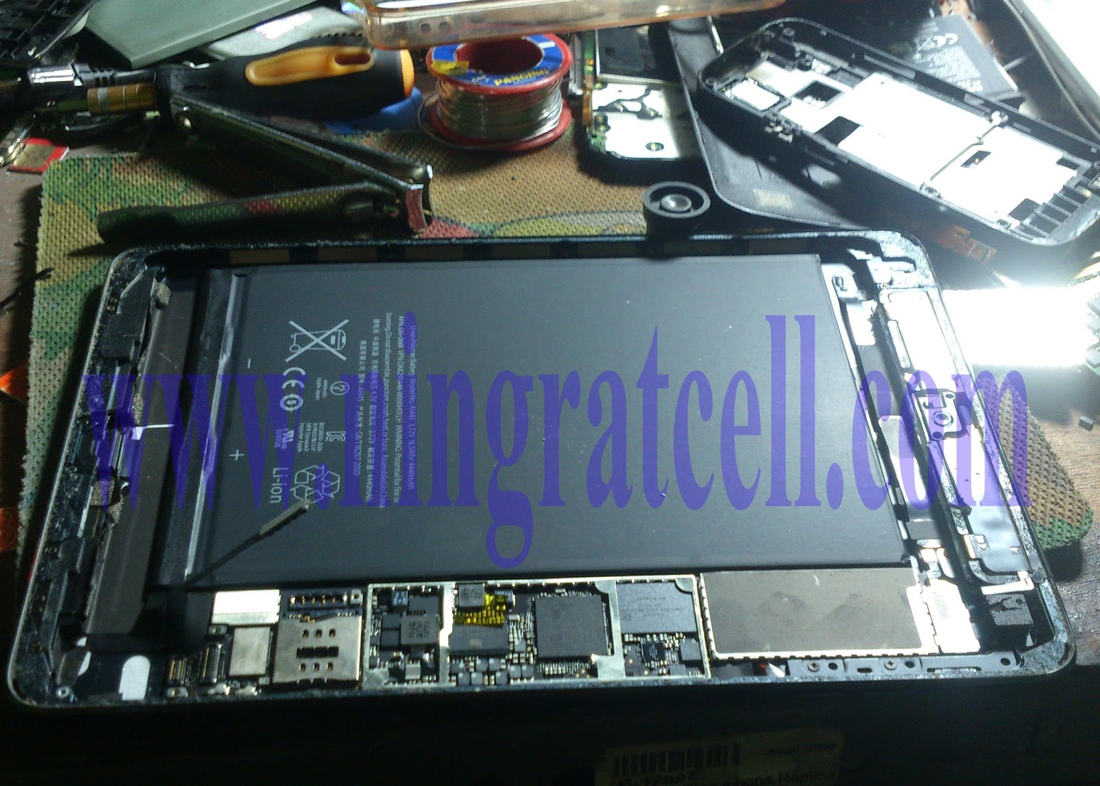 Cara Bypass Icloud Lock Ipad Mini | Tutorial Service HP
