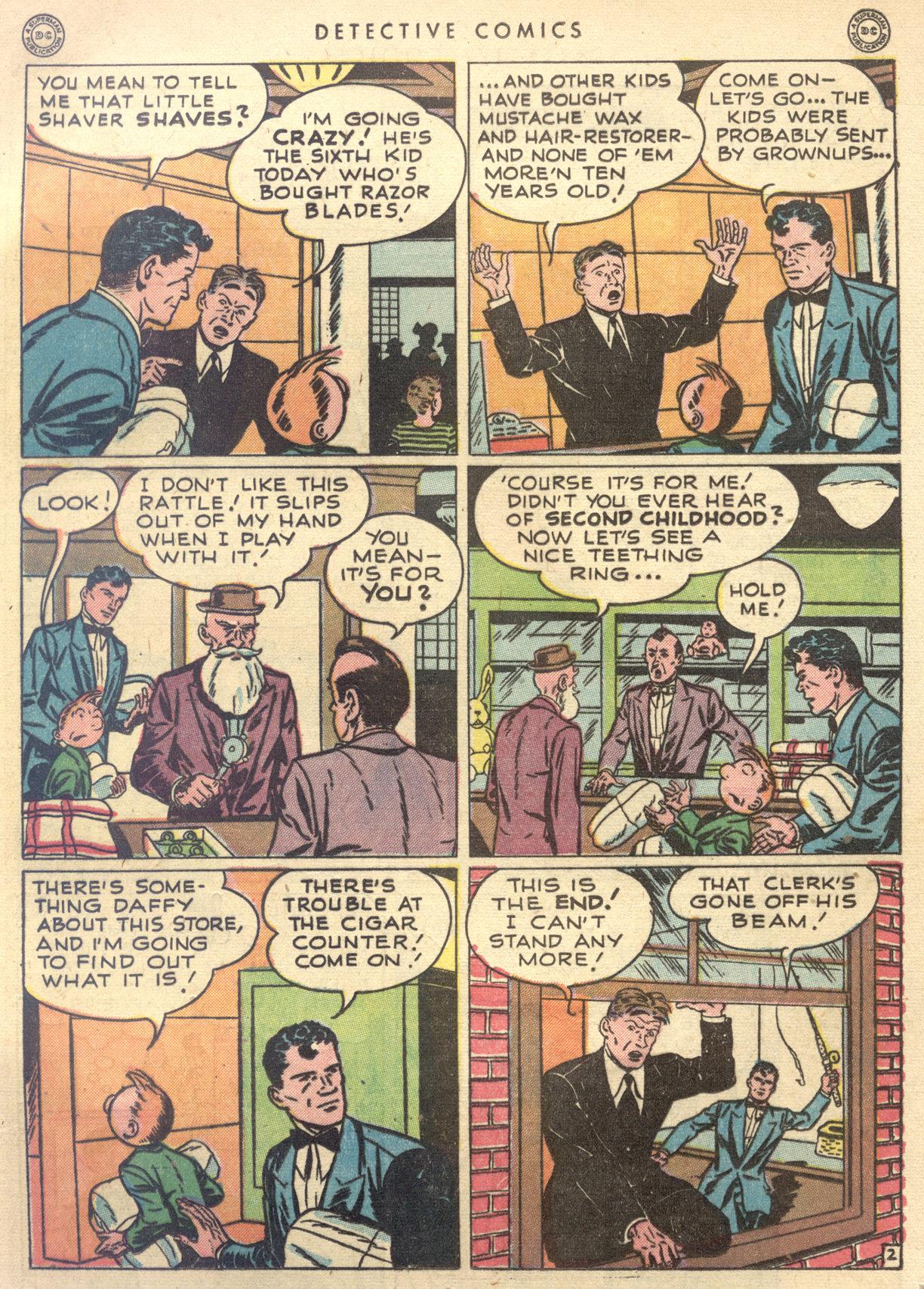 Read online Detective Comics (1937) comic -  Issue #122 - 19