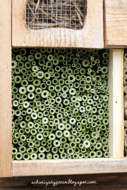 Ein Schweizer Garten Wildbienenhotel