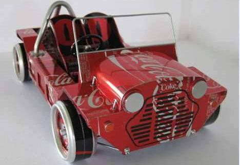 Carros Hechos Con Material Reciclable