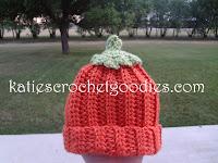 free pumpkin crochet pattern