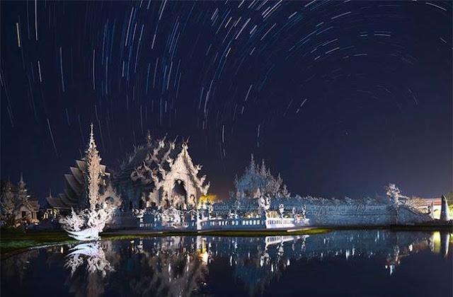 El templo que parece sacado de película de fantasía