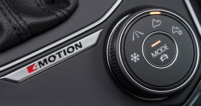Volkswagen Tiguan mode selector