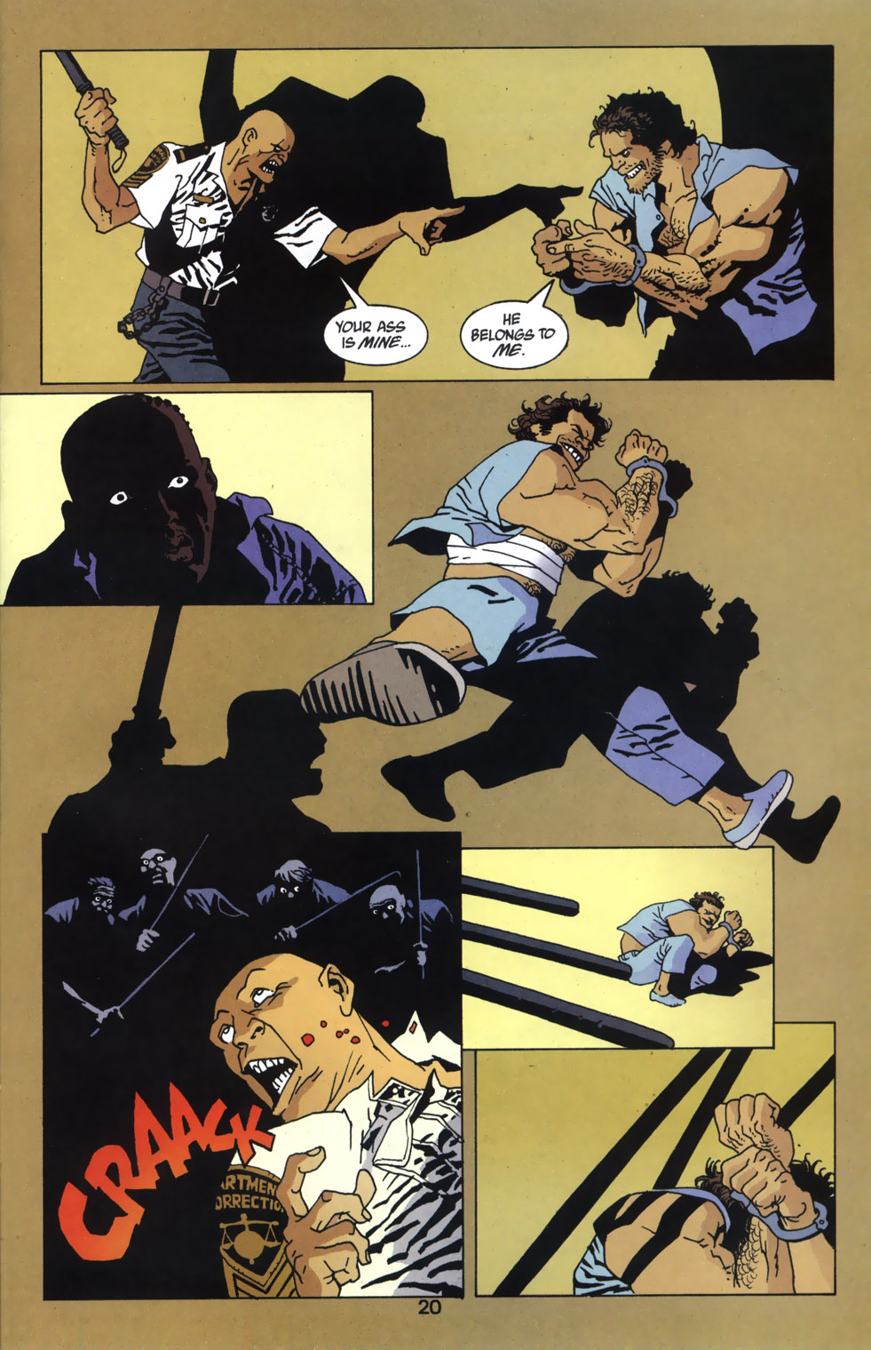 Read online 100 Bullets comic -  Issue #46 - 21