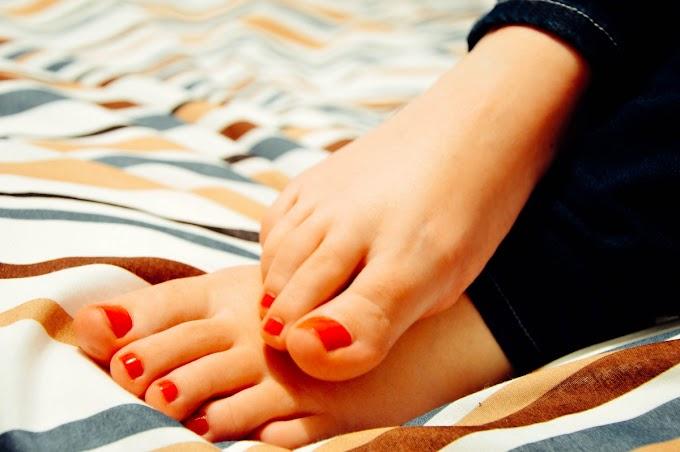Exfoliación natural para pies