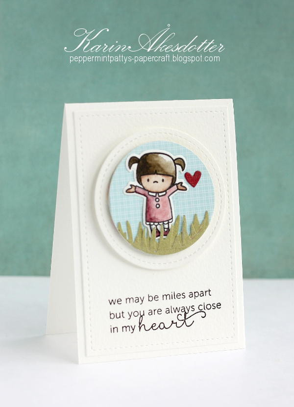 Peppermint Patty S Papercraft We May Be Miles Apart