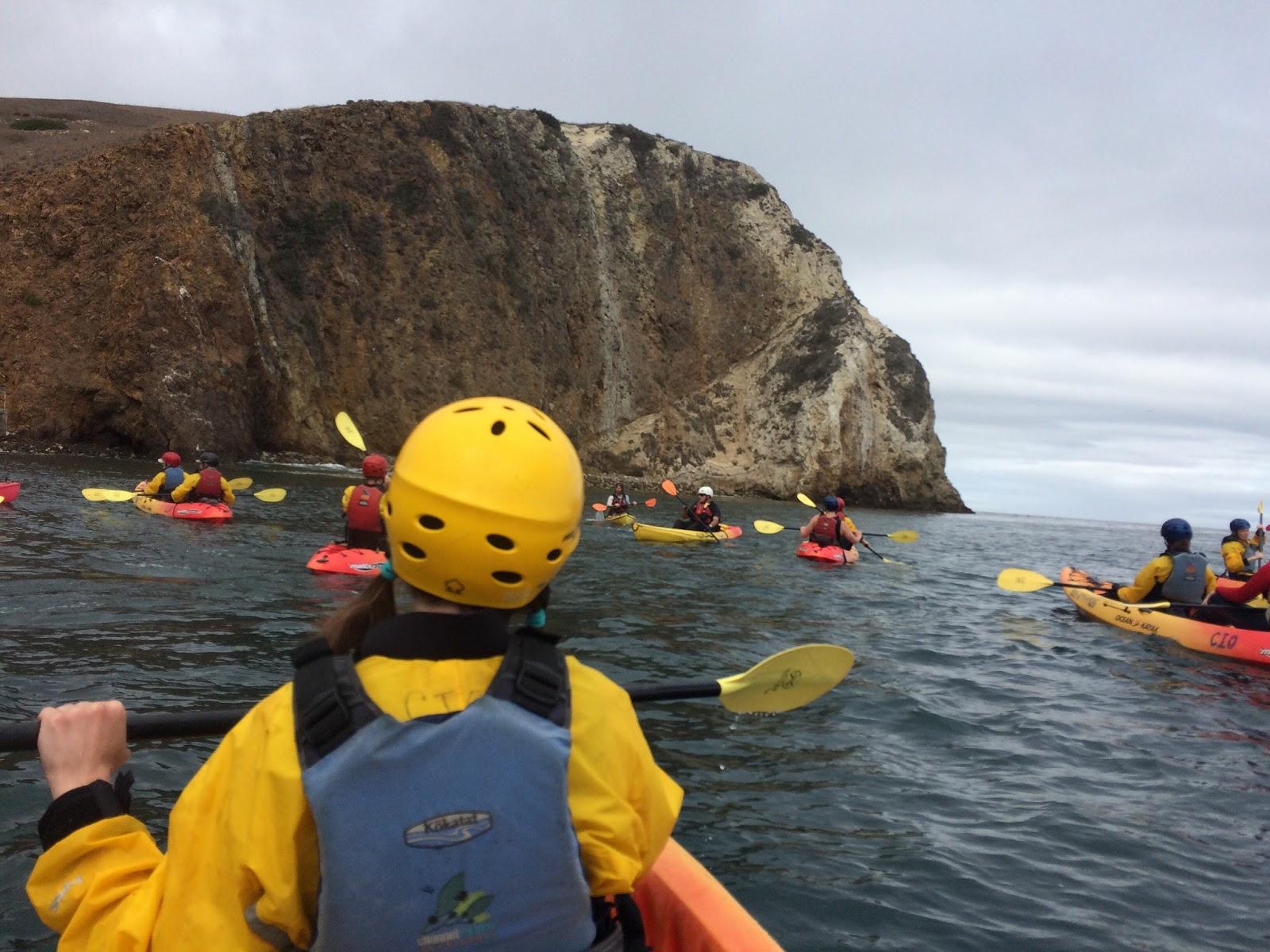 tendency to wander: santa cruz island kayaking with channel islands