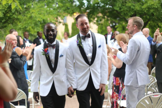 """The Gay Marriage That Broke The Nigerian Internet"" - Warri man David Ukre's husband Eric opens up about their wedding"