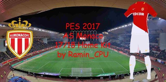 AS Monaco 2017/18 Kit PES 2017