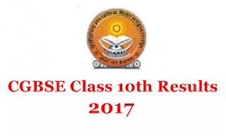 CGBSE Matric Result