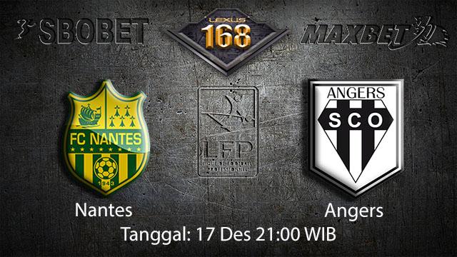 PREDIKSIBOLA - PREDIKSI TARUHAN BOLA NANTES VS ANGERS 17 DESEMBER 2017 ( FRENCH LIGUE 1 )