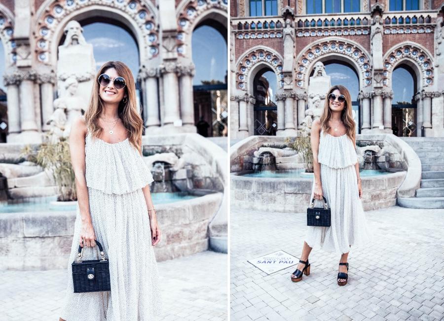 a trendy life fashion fashion blogger tcn tcn fashion show 080bcnfashion vestido vaporoso20180625 080 tcn 029 side - VESTIDO MIDI VAPOROSO - 080 BARCELONA FASHION