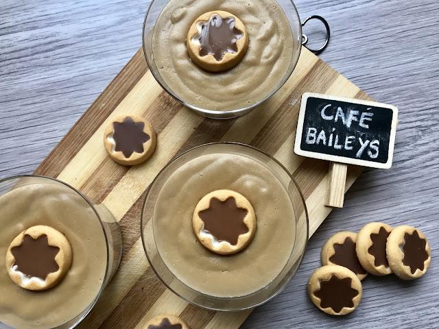 natillas de café y baileys receta