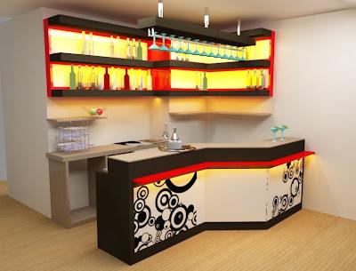 Dise arte bar para departamento en miraflores - Disenos de barras de bar ...