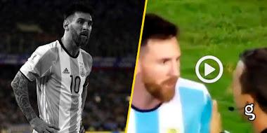 ¡Último momento! Video: Tremendo castigo para Messi tras lo ocurrido con los árbitros.