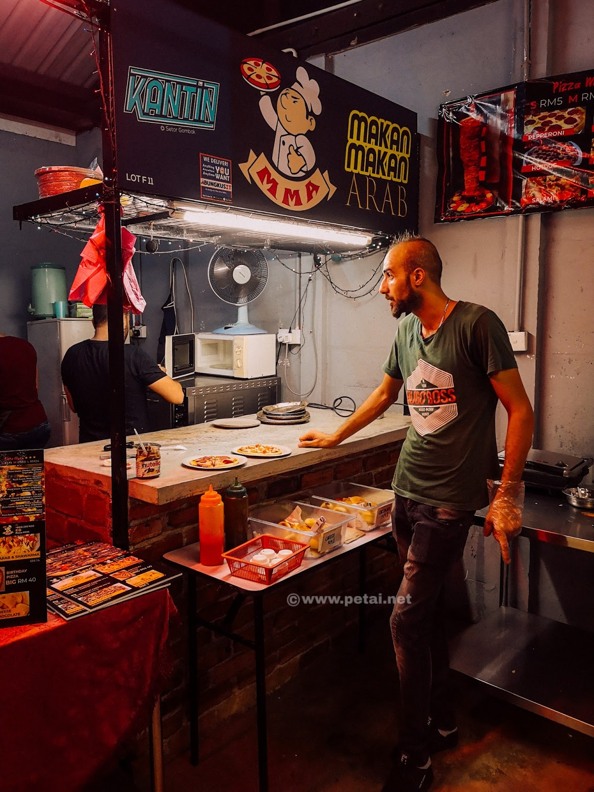 Kantin @ Setor Gombak - pizza