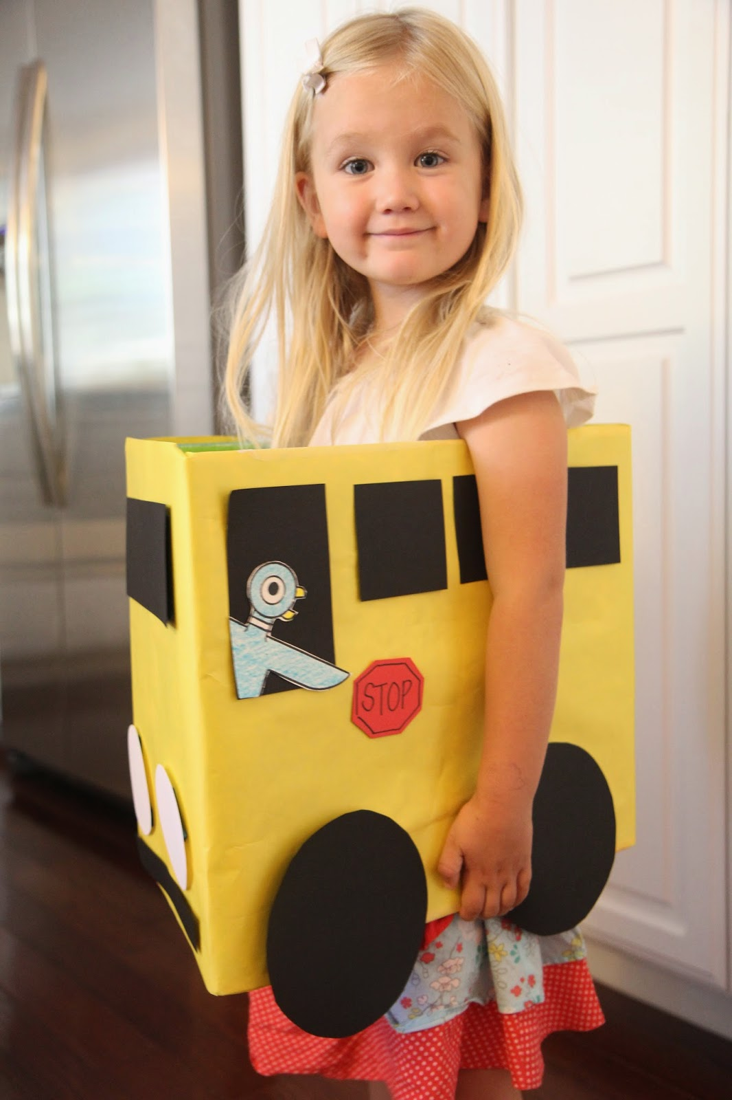 Toddler Approved Cardboard Box Bus Craft Amp Number Game
