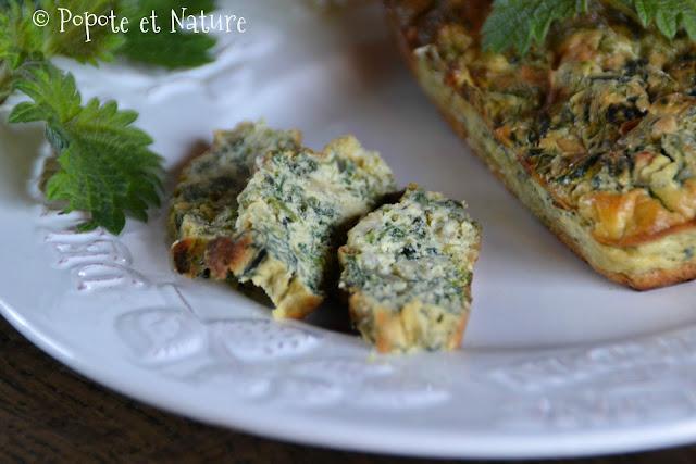 Flan d'orties fraîches au parmesan © Popote et Nature