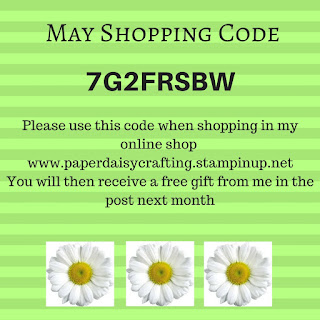 Free gift for shopping with Stampin' Up!