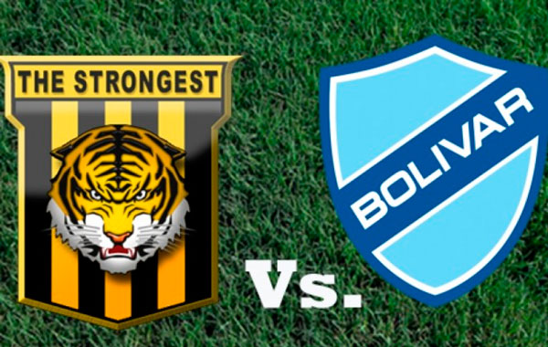 En vivo The Strongest vs. Bolívar