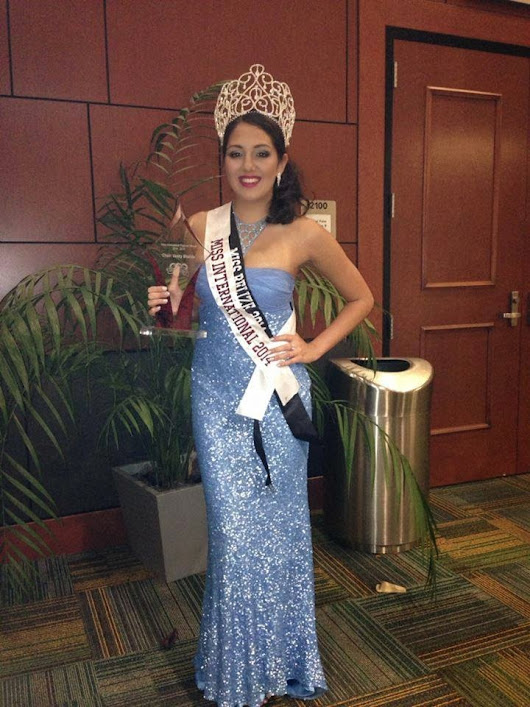 Another Pageant win for Belize at the 29th Annual Miss International Pageant at the University of South Florida.